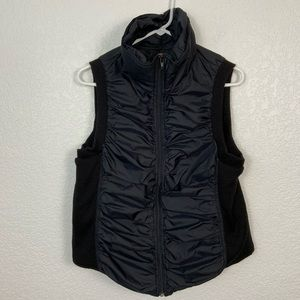 Free People Black Vest Size Large